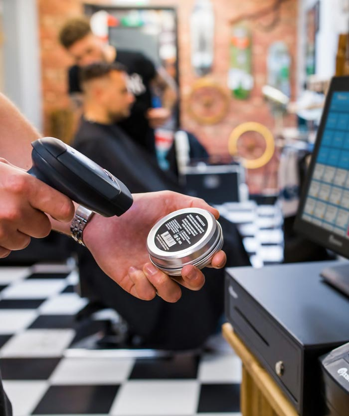Epos with Barcode Scanner
