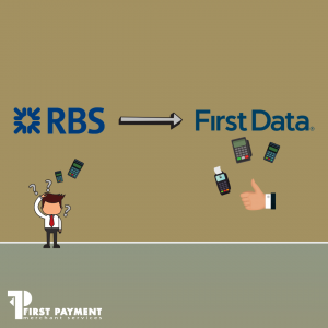 RBS recommend first data